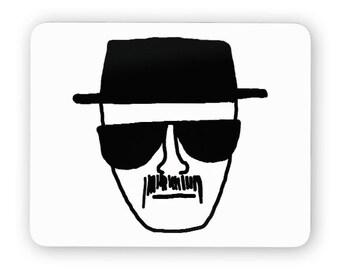 Heisenberg - funny desk mouse pad, meme mouse pad, comptuer mouse pad, desk accessory mouse mat 3M010