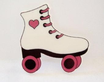 Roller Skate  Embellishment,Large