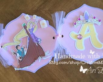 Tangled/Rapunzel Birthday Banner