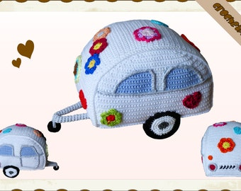Crochet Pattern (002): Hippie Trailer