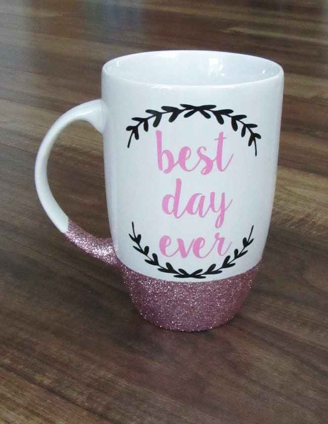 Best Day Ever Mug Personalized Coffee Cup By Greiscreations