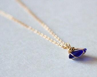 Tiny Hawaiian Sea Glass Choker Necklace