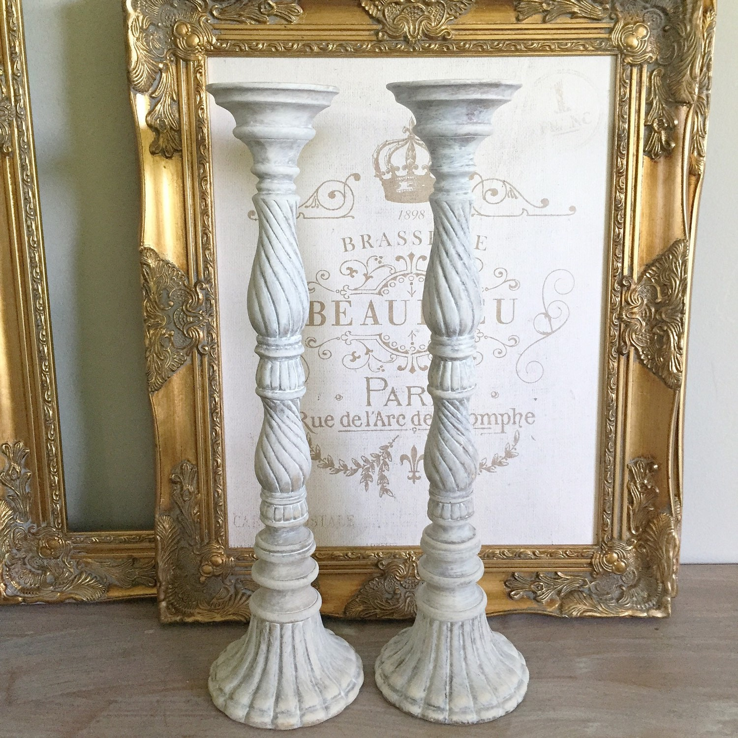 Tall Wedding Candle Holders Bridal Table Centerpiece French