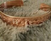 Coordinates Bracelet.  Coordinate Bracelet. Aluminum, Copper and Nugold