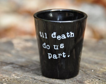 Halloween bachelorette party shot glasses halloween party halloween wedding bridal shower girls night out witches halloween wedding favors