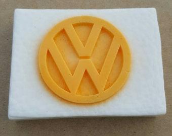 Vw soap, Shea Butter Soap, Volkswagen soap, Vdub soap, emblem soap