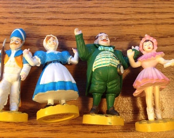 Wizard Of Oz 1988 Munchkins Figurines