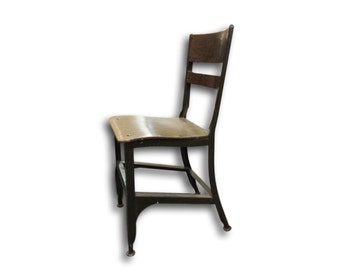 Code Typing Chair - Toledo Chair - Uhl Steel Chair -