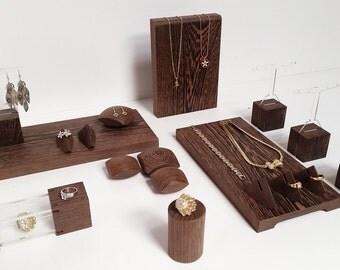 Jewelry display set for craftshow and shopwindow