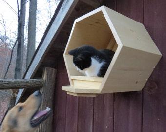 petit nid d 39 abeille ensemble de 7 tablettes par. Black Bedroom Furniture Sets. Home Design Ideas