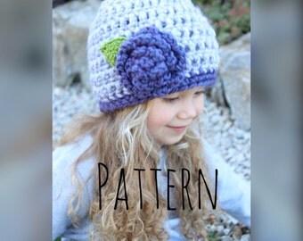 crochet hat pattern, crochet hat, crochet pattern