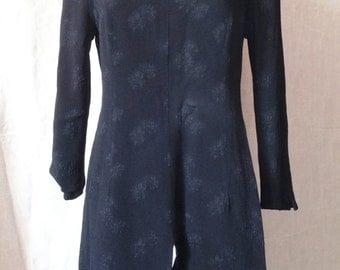 Tunic black vintage, Valentino, Miss V, T 40 / 42.