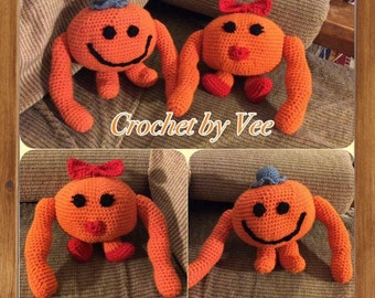 Crochet Mr & Mrs Tickle