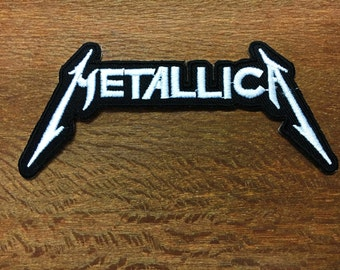New METALLICA Embroidered Iron on Patch Thrash Heavy Metal Band Rock #1