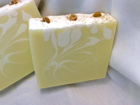 Chamomile Silk~Goats Milk Handmade Soap~Bar Soap~Cold Process Soap~Artisan Soap