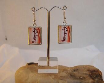 Galaxy chocolate earrings