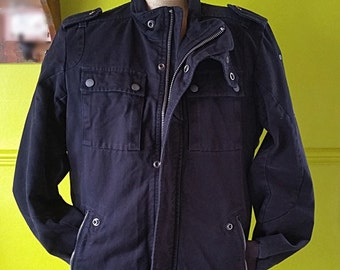 Men's Diesel Jacket, Size S, Lightweight Casual Jacket, Men's Outerwear, Diesel