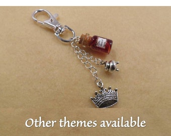 Shakespeare bag charm with the theme of your choice.