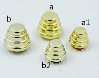 Riveted Studs screws style,bag screw shackles.8 Pcs