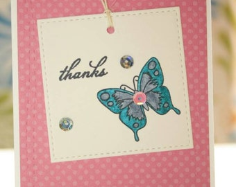 Handmade Thank You Card - Set of 10