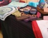 Set of 3 organic cotton Burp Cloths