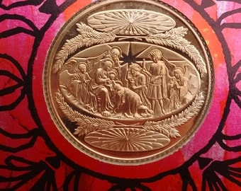Glory to God Franklin Mint medal 1971