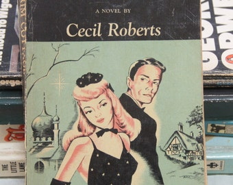 """A striking 1948 Pan paperback edition of Cecil Robert's  classic """"Pilgram Cottage"""""""