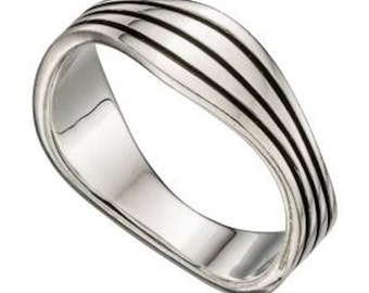 MensThumb Ring Sterling Silver Sizes P up to z2 availavle