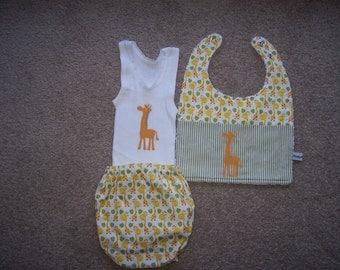 00 (up to 8kg) Three piece baby set