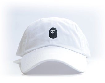 BAPE Embroidered Dad Hat (AAPE BBC bathing ape bapesta )