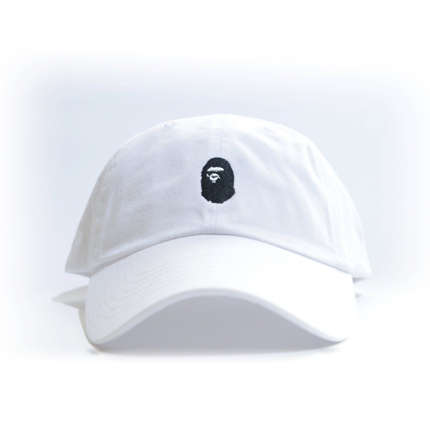 White baseball caps for crafts - Bape Embroidered Dad Hat Aape Bbc Bathing Ape Bapesta