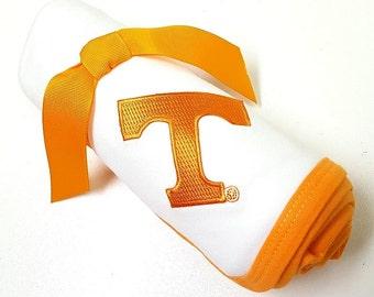 Tennessee Volunteer Baby Receiving Blanket