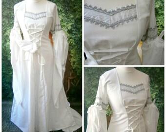 Medieval Wedding Dress, Gown, Renaissance Fairs, LARP, Fantasy