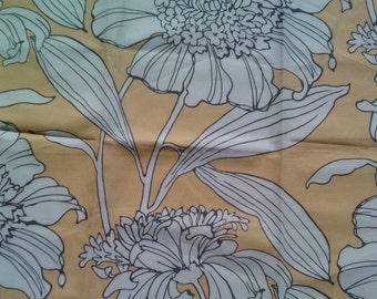 Duralee Fabric Sample 20982 Sunglo Indoor/Outdoor Fabric Cotton USA