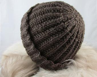 Merino Wool and Silk Hat