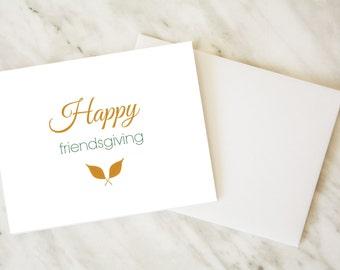 Friendsgiving Card / Thanksgiving Card / Friends Card