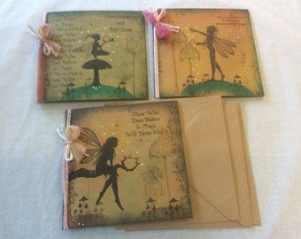 Magical fairy pkt 3 cards (set 2)