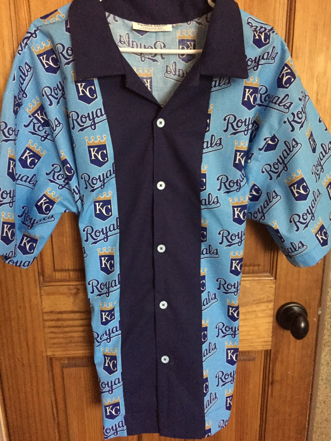 world champion kansas city royals retro bowling