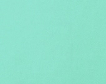 Solid Aqua Mint Cotton Spandex Jersey Knit Fabric 5113