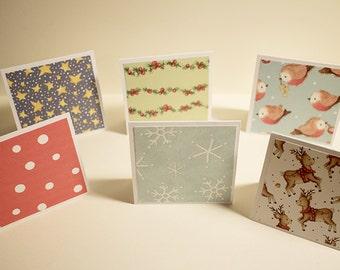 SALT | Set of 6 greeting cards [CHRISTMAS]