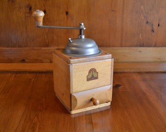 German Made Armin Trosser Box/Lap Coffee Grinder