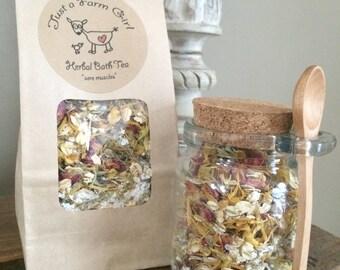 Herbal Bath Tea kits - choose your blend