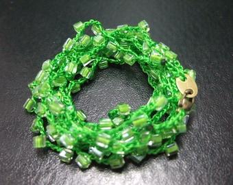 Beautiful Crochet Bracelet