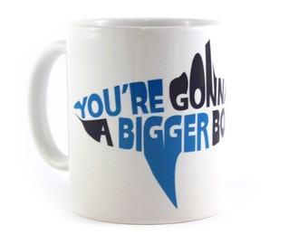 Jaws: Bigger Boat Movie Mug