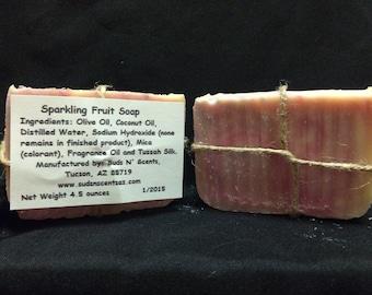 Sparkling Fruit Soap