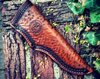 Custom Leather Pouch Sheath
