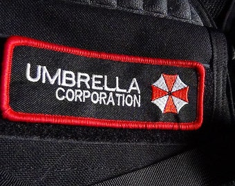 Resident Evil - Umbrella Corporation Cosplay patch Hook and Loop backing