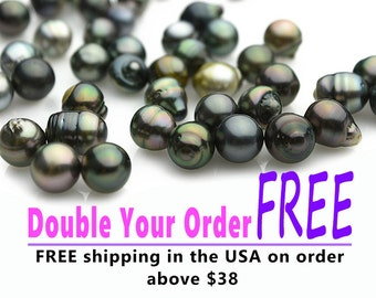 Tahitian Pearls, sizes 8 to 15mm  (RF 015)