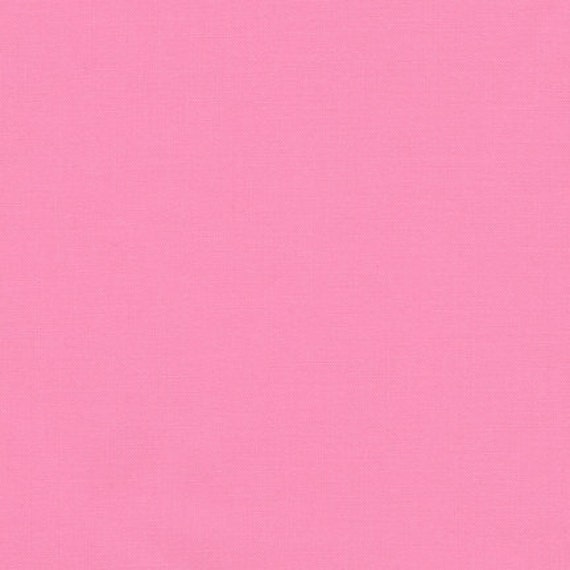 Carnation Cotton Fabric by Robert Kaufman, Pink
