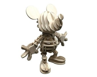 Mickey Mouse Assembled